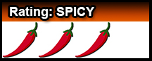 Devil Cross Spice Rating Spicy Header