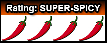 Devil Cross Spice Rating Super-Spicy Header